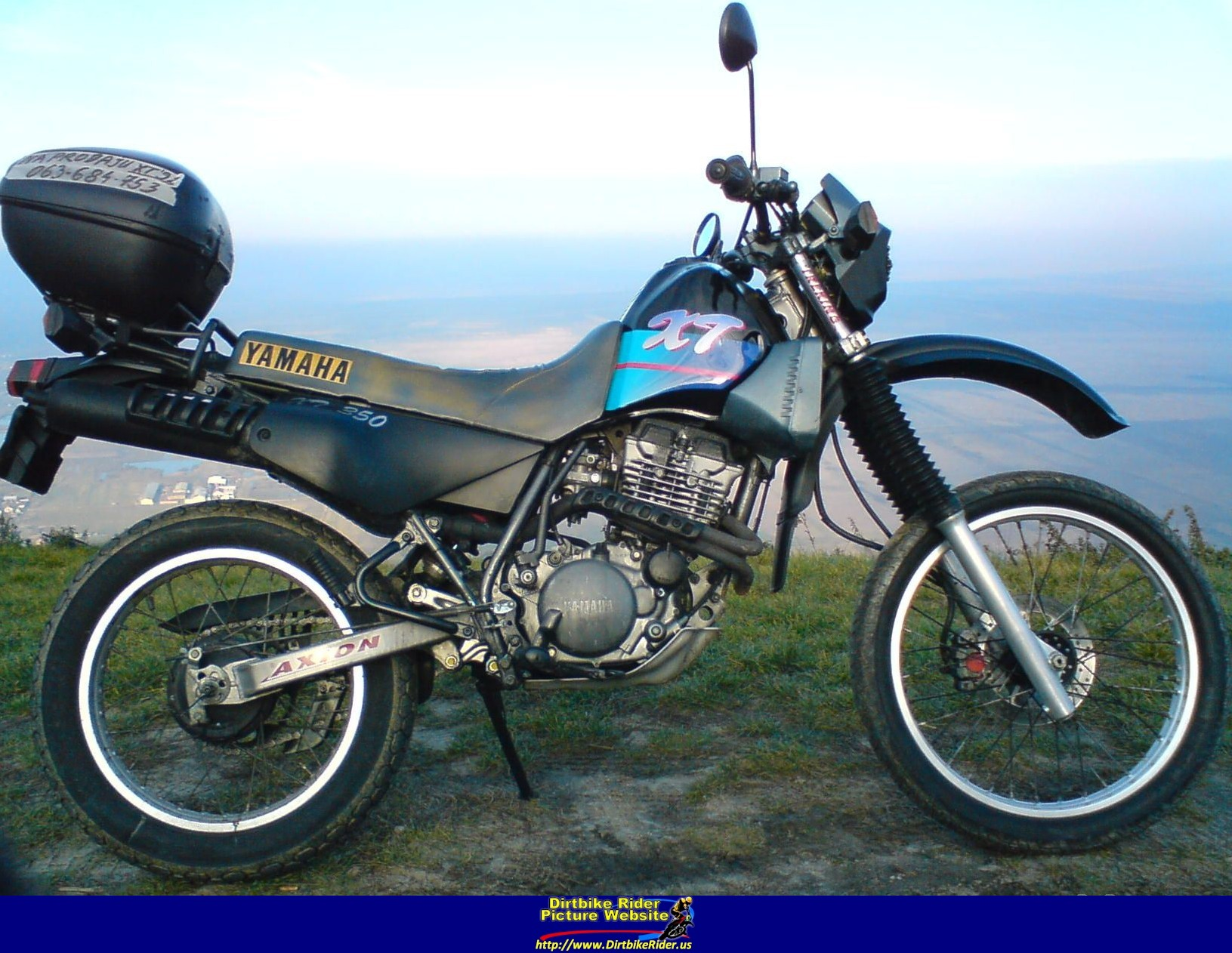1993 yamaha xt 350 pics specs and information. Black Bedroom Furniture Sets. Home Design Ideas