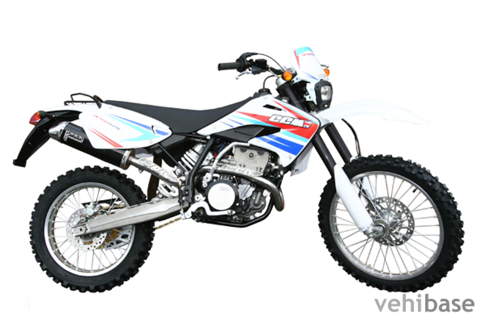 2007 ccm 404ds dualsport moto  pics  specs and information
