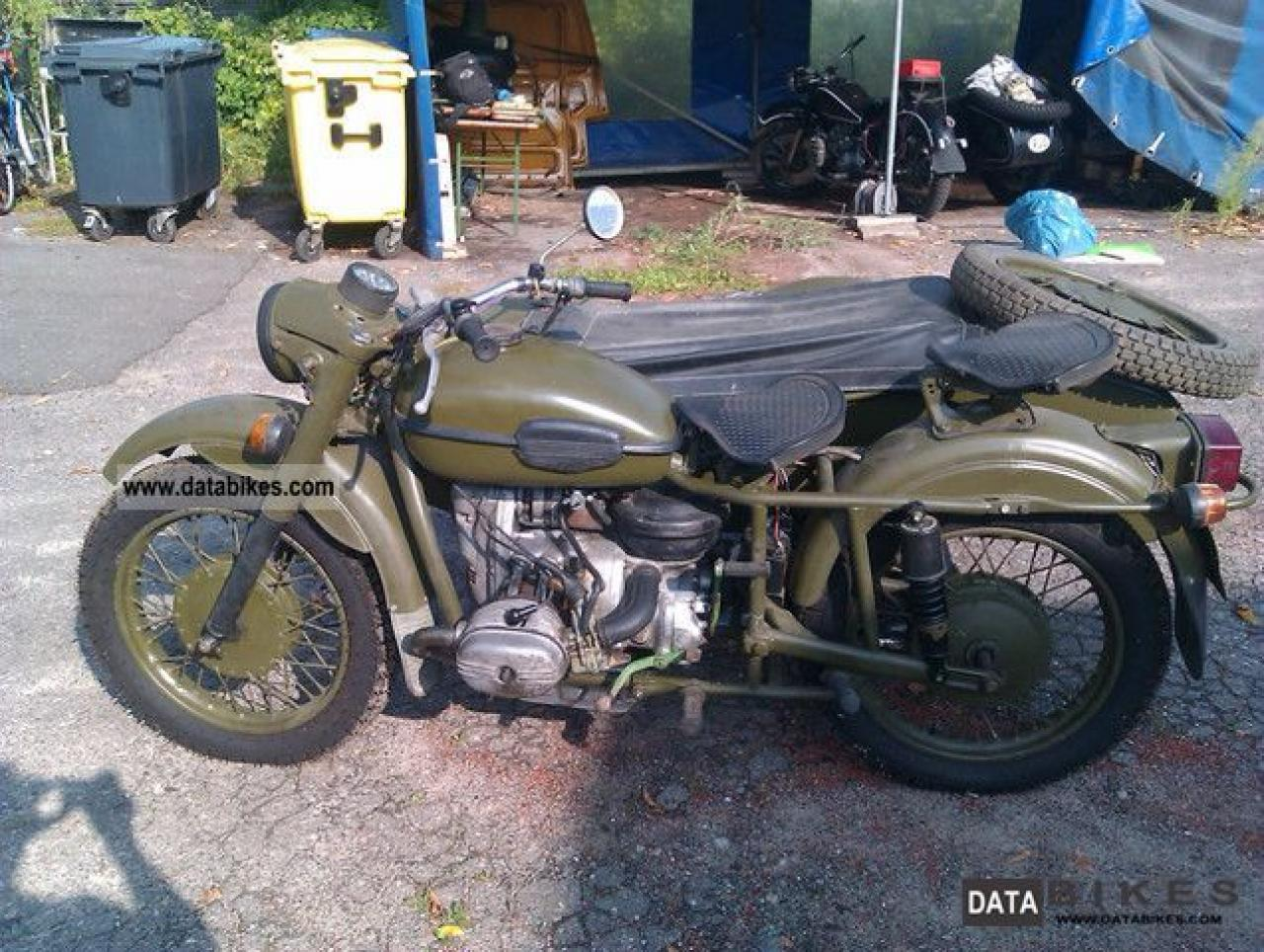 Dnepr MT 10 with sidecar 1982 images #70453
