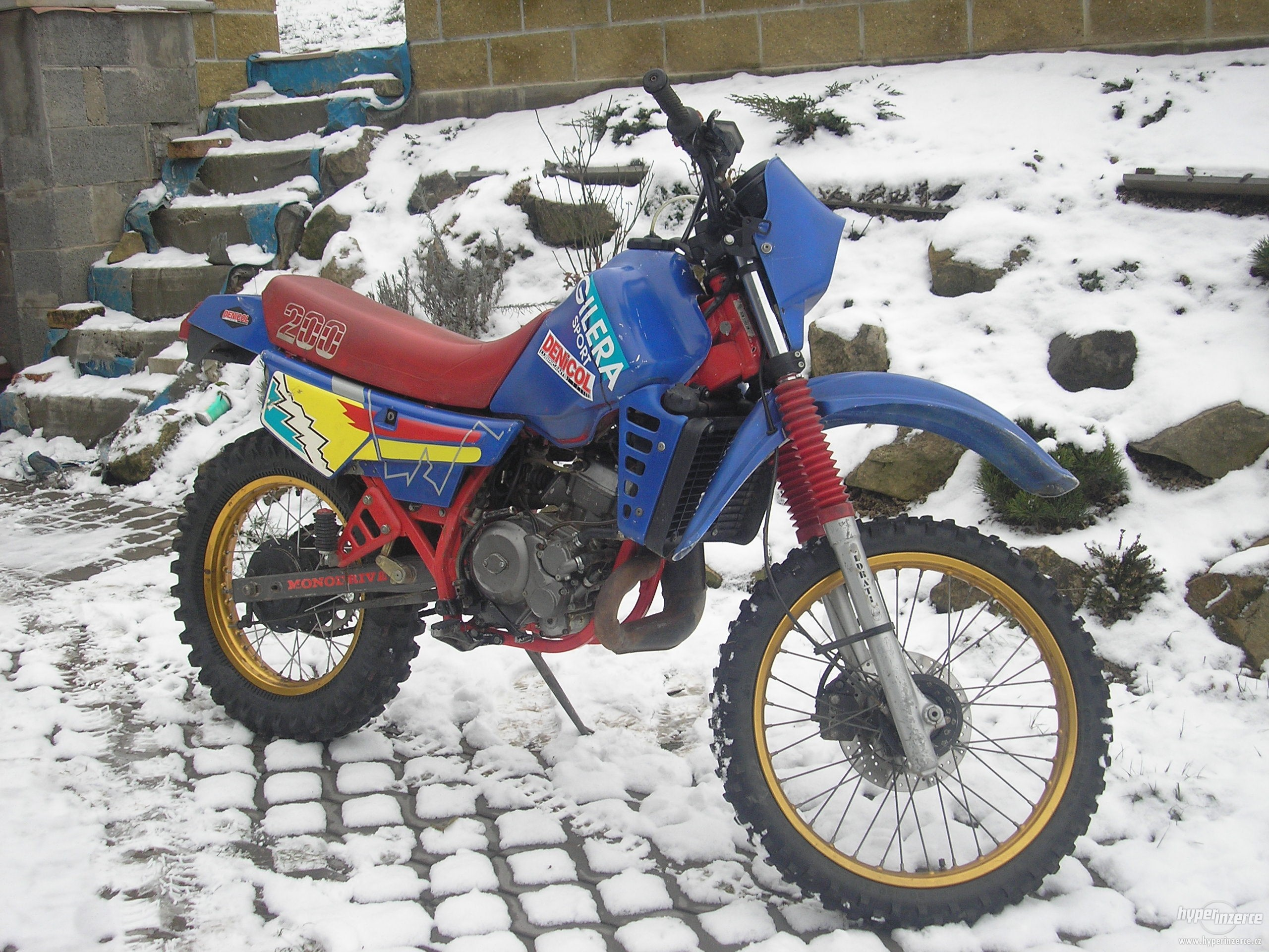 Gilera RX 200 Arizona 1986 images #72820