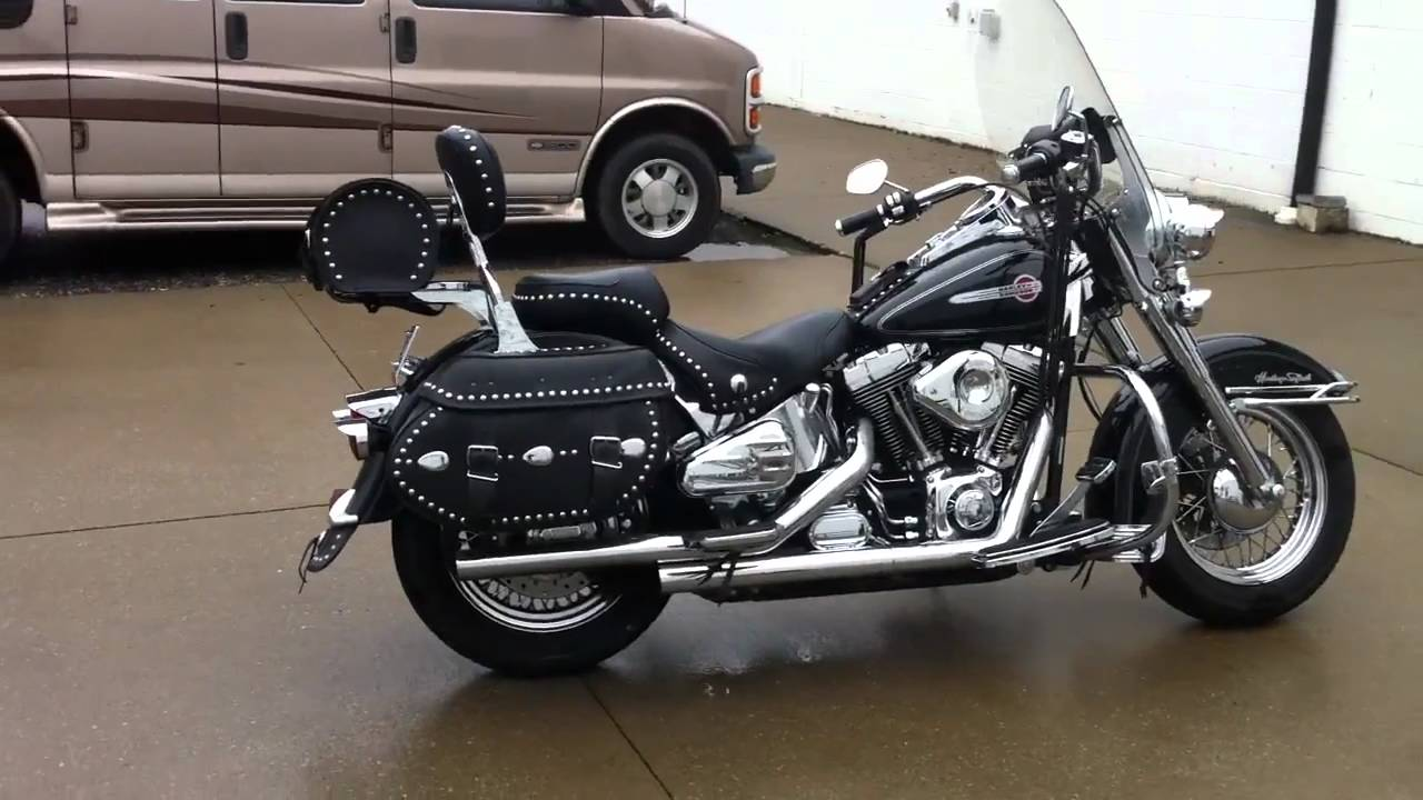 Harley-Davidson FLSTC Heritage Softail Classic 1998 images #80155