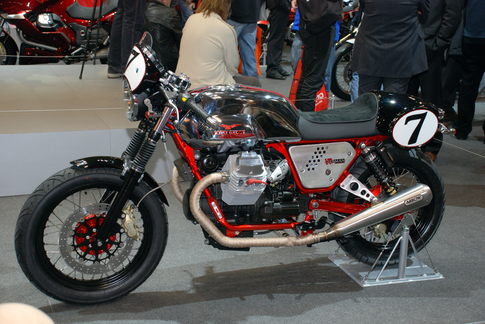 Moto Guzzi V7 Clubman Racer wallpapers #139513