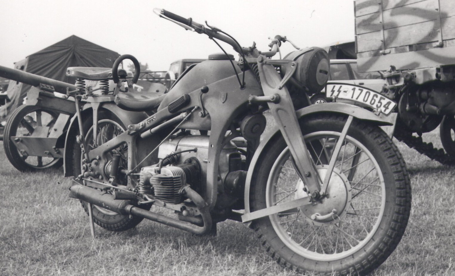 Ural M-63 with sidecar 1977 images #127219