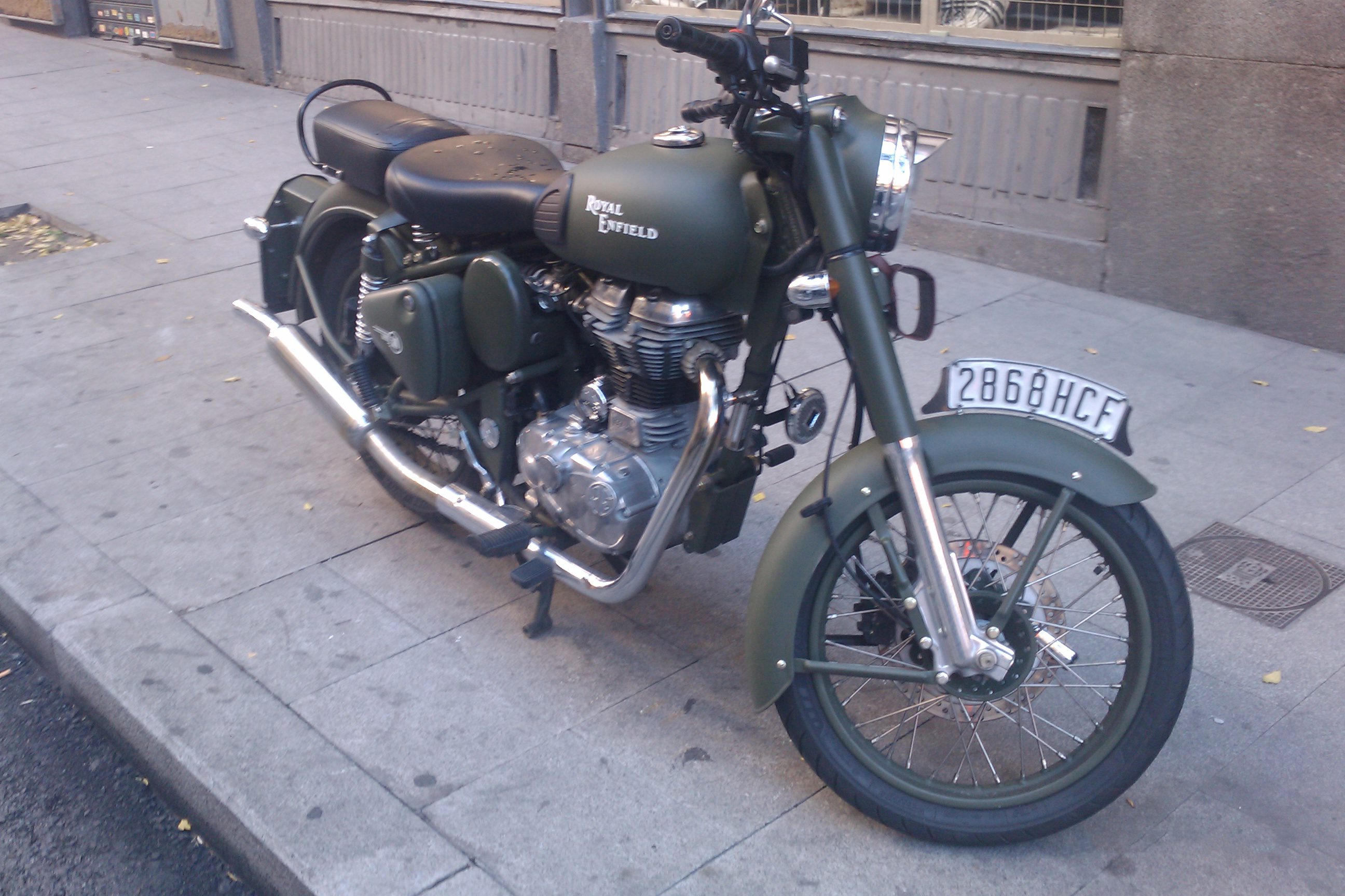 Royal Enfield Bullet 350 Army 1988 images #122586