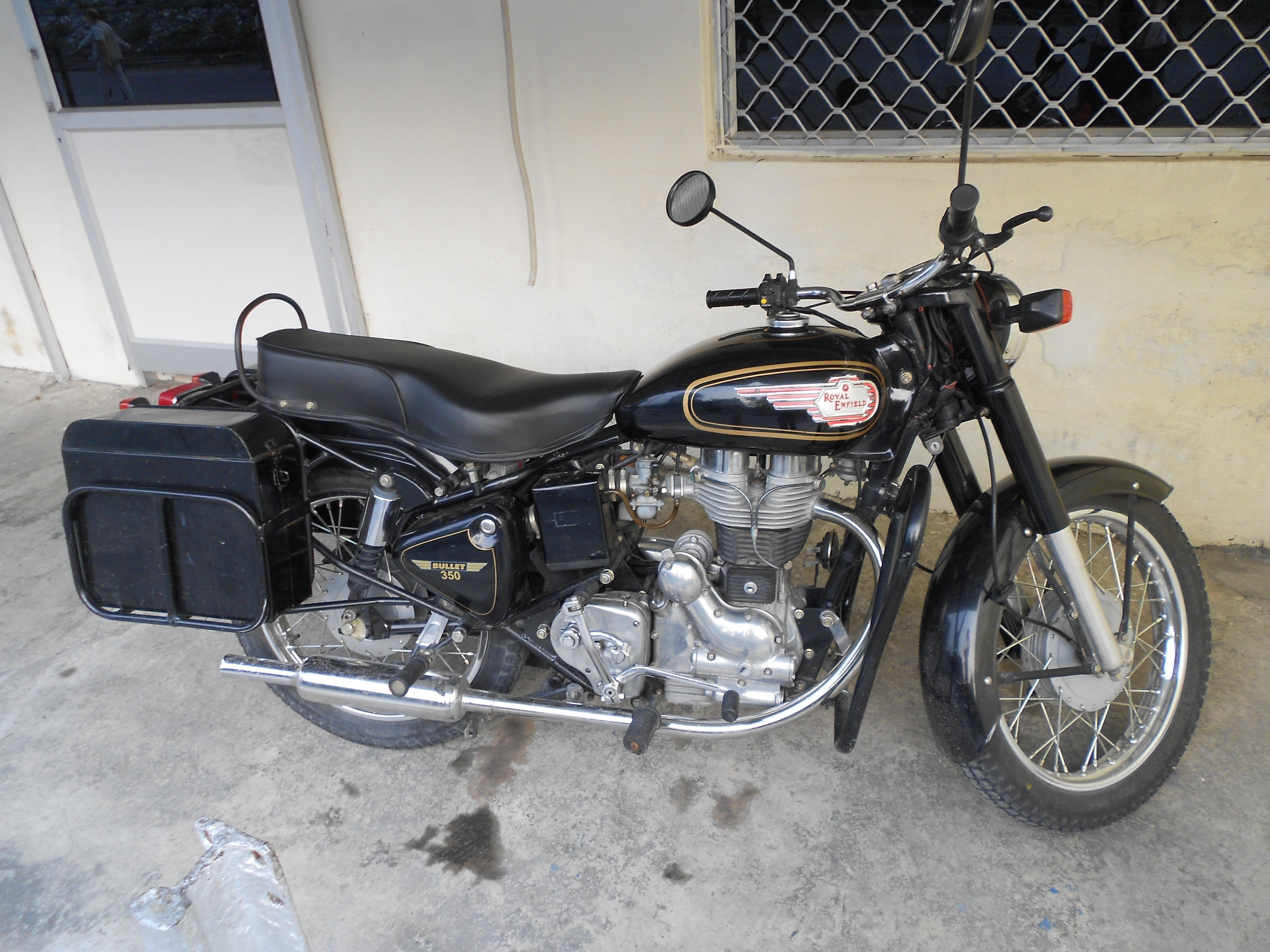 Royal Enfield Bullet 350 Army 2002 images #123576