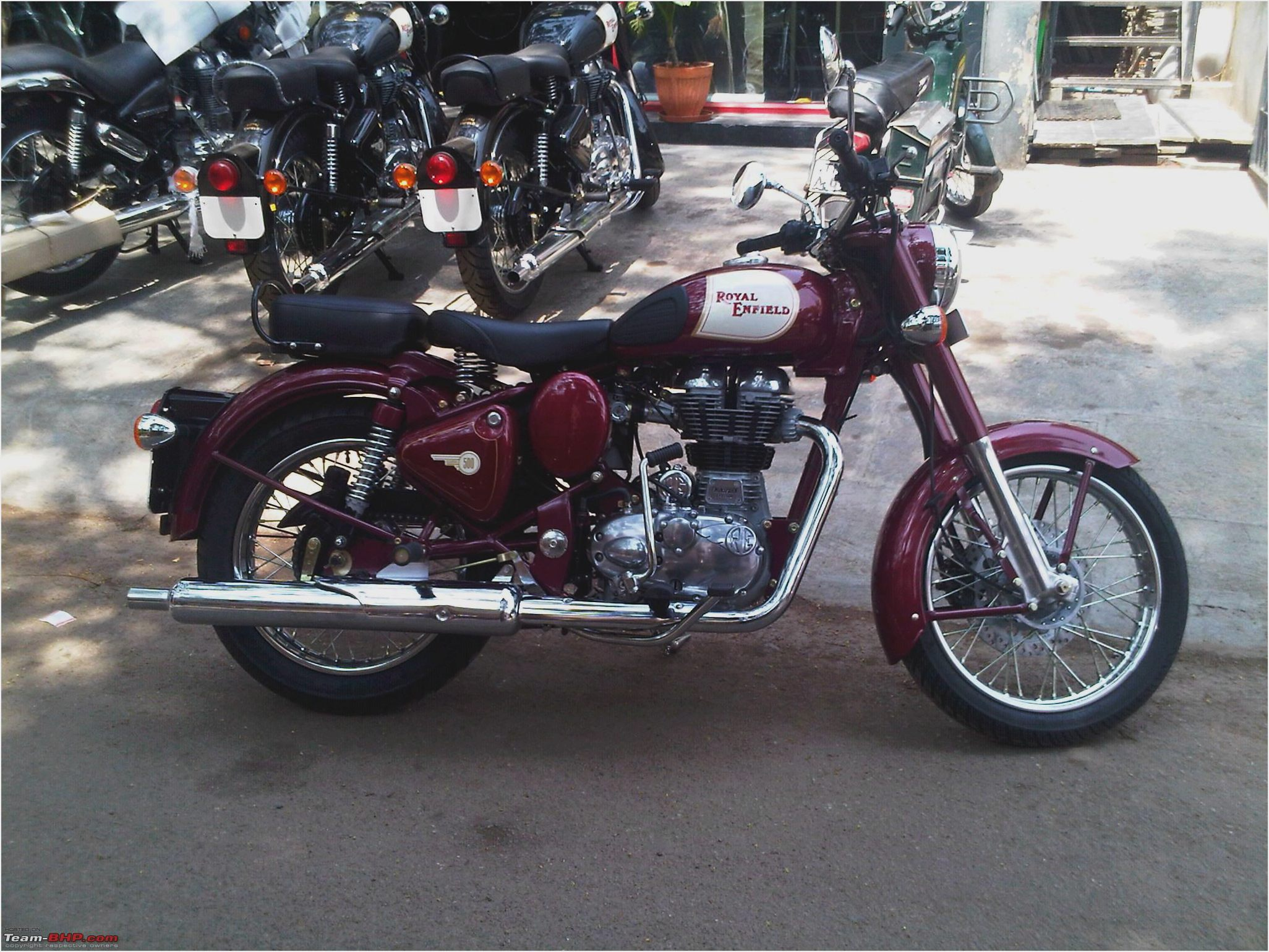 Royal Enfield Bullet 350 Classic 2008 images #123476
