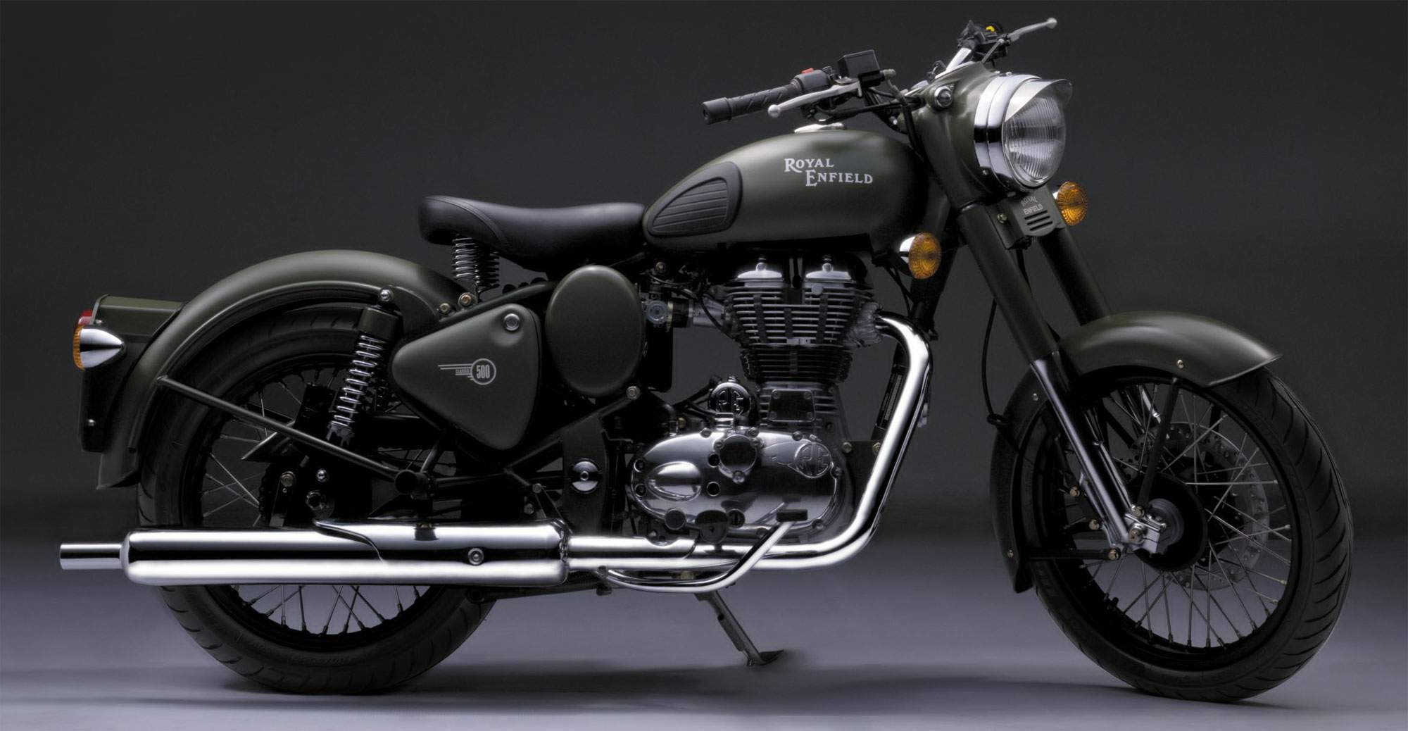 Royal Enfield Bullet 500 Army 1997 images #158650