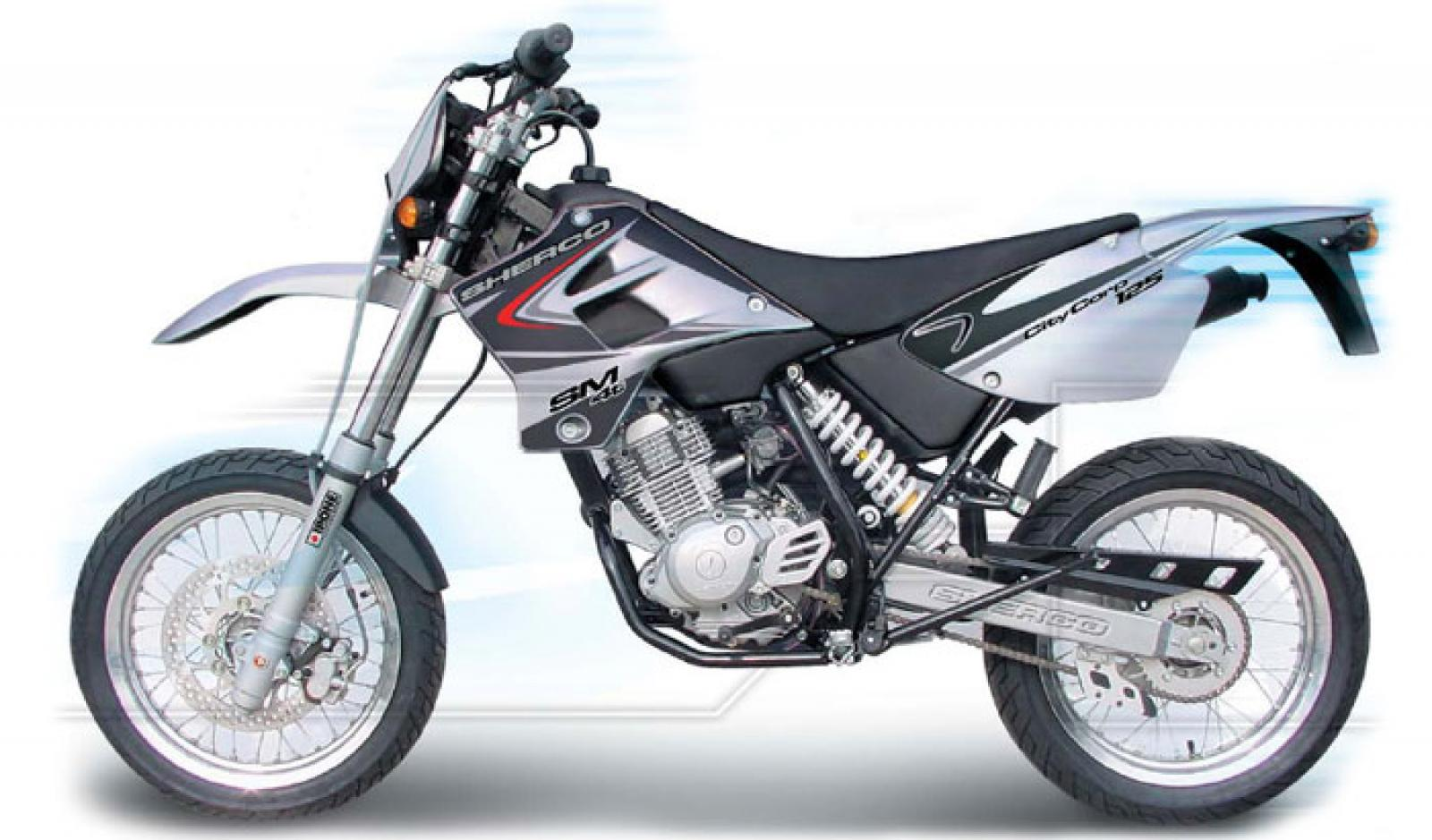 Sherco 125cc Enduro Shark Replica 2007 images #124670