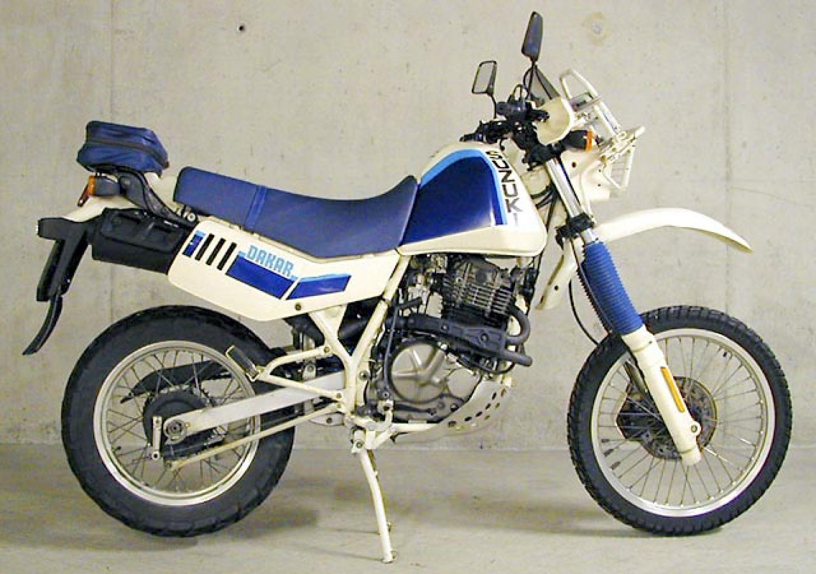 Suzuki DR 600 R Dakar 1988 wallpapers #160538
