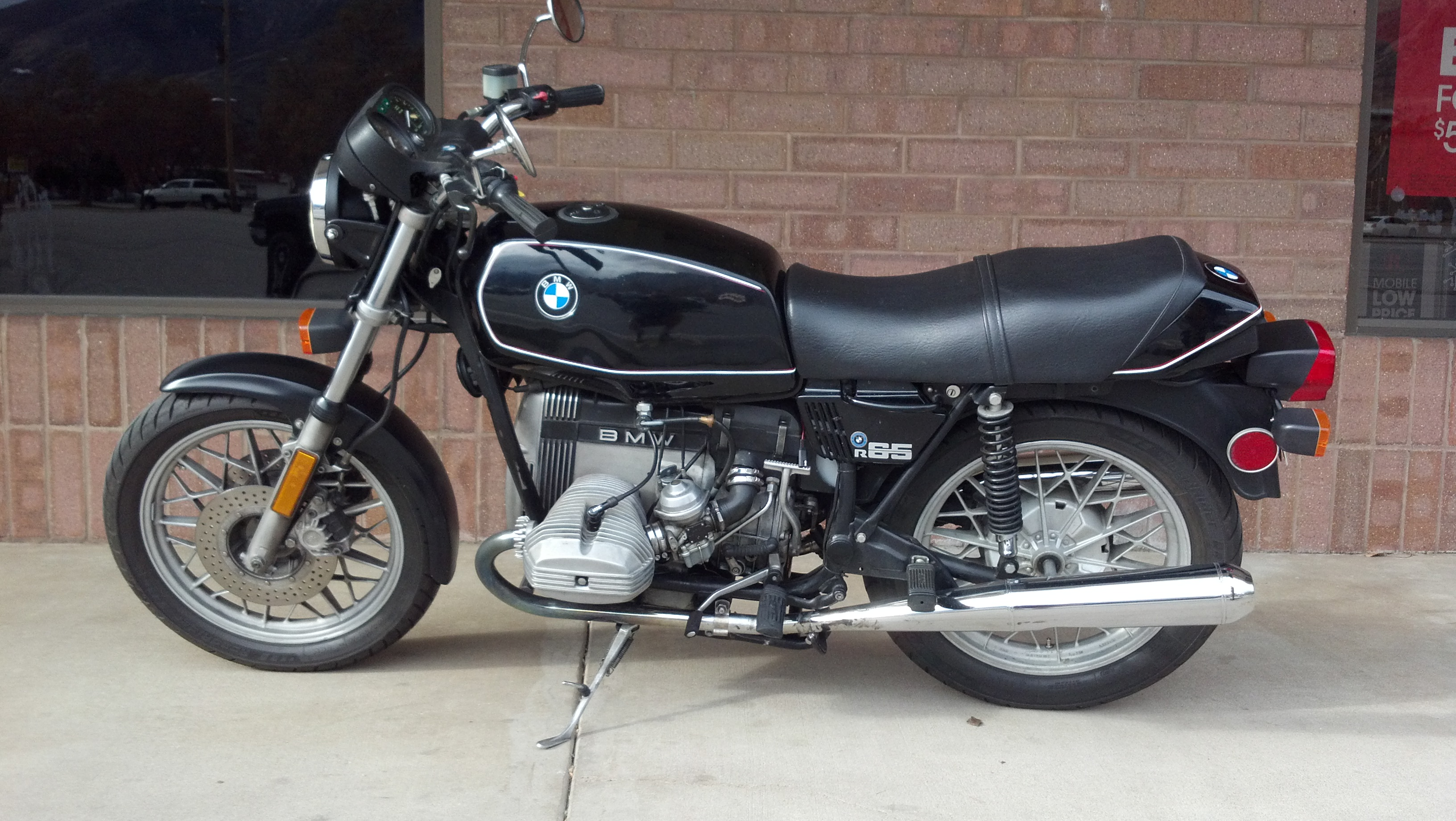 BMW R65 (reduced effect) 1988 images #77182
