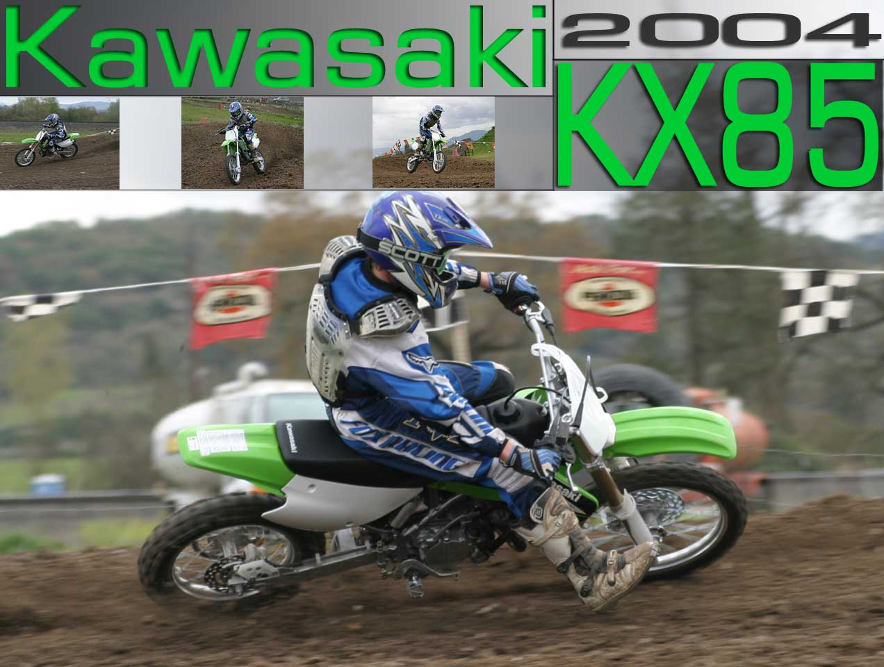 Kawasaki KX 85 wallpapers #134753