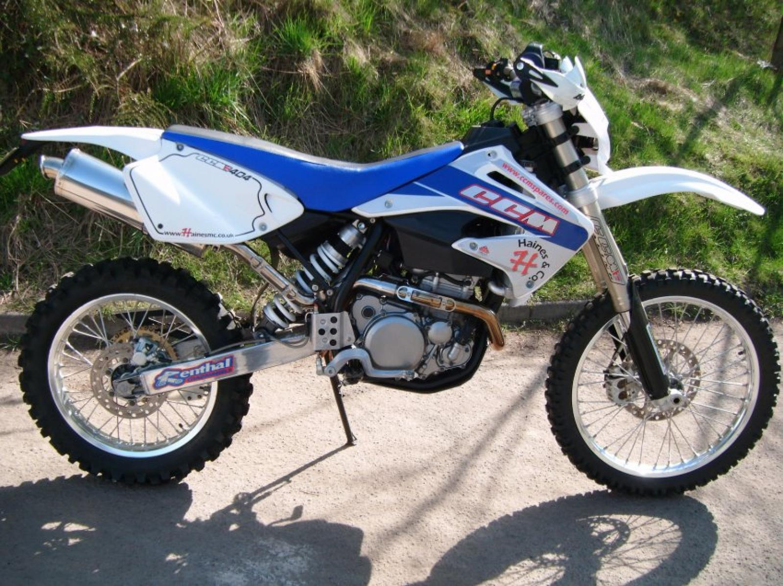 CCM 404DS Dualsport Moto 2007 images #94140