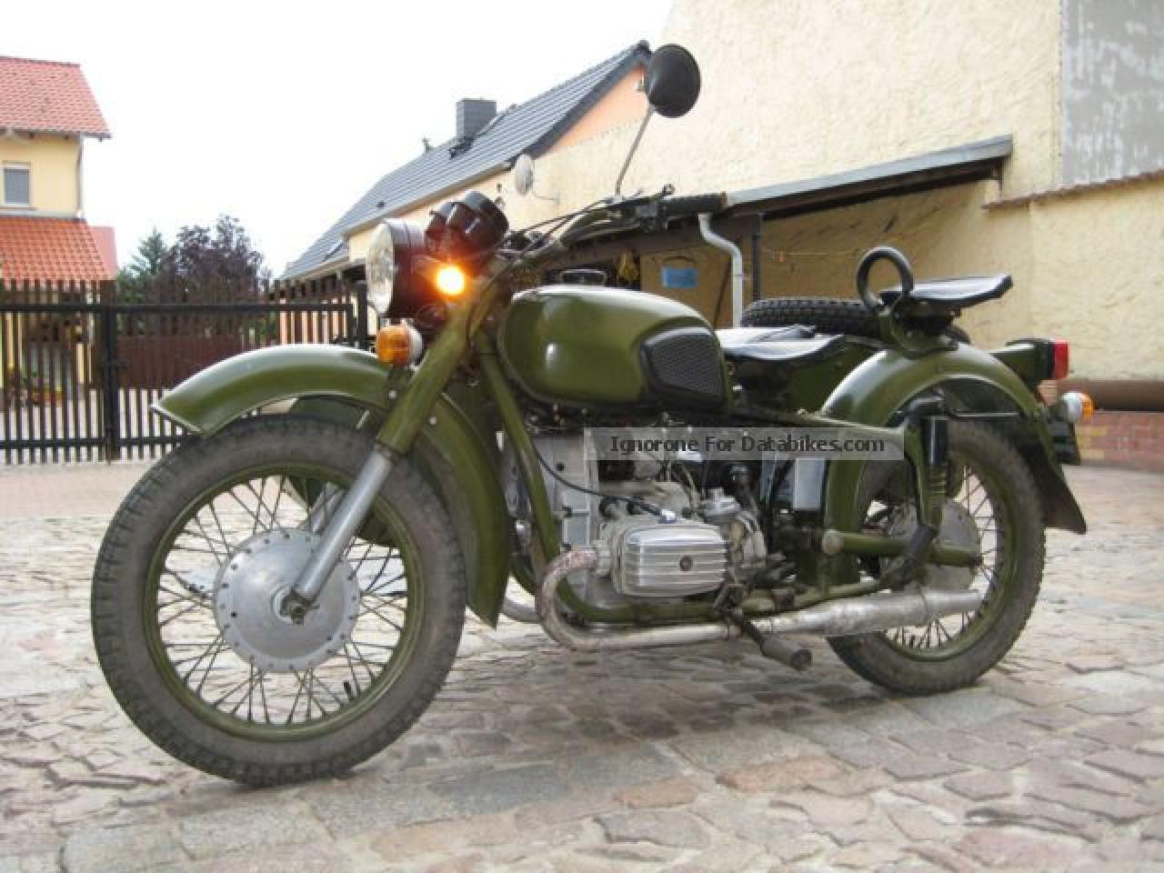 Dnepr MT 10 with sidecar 1982 images #70456