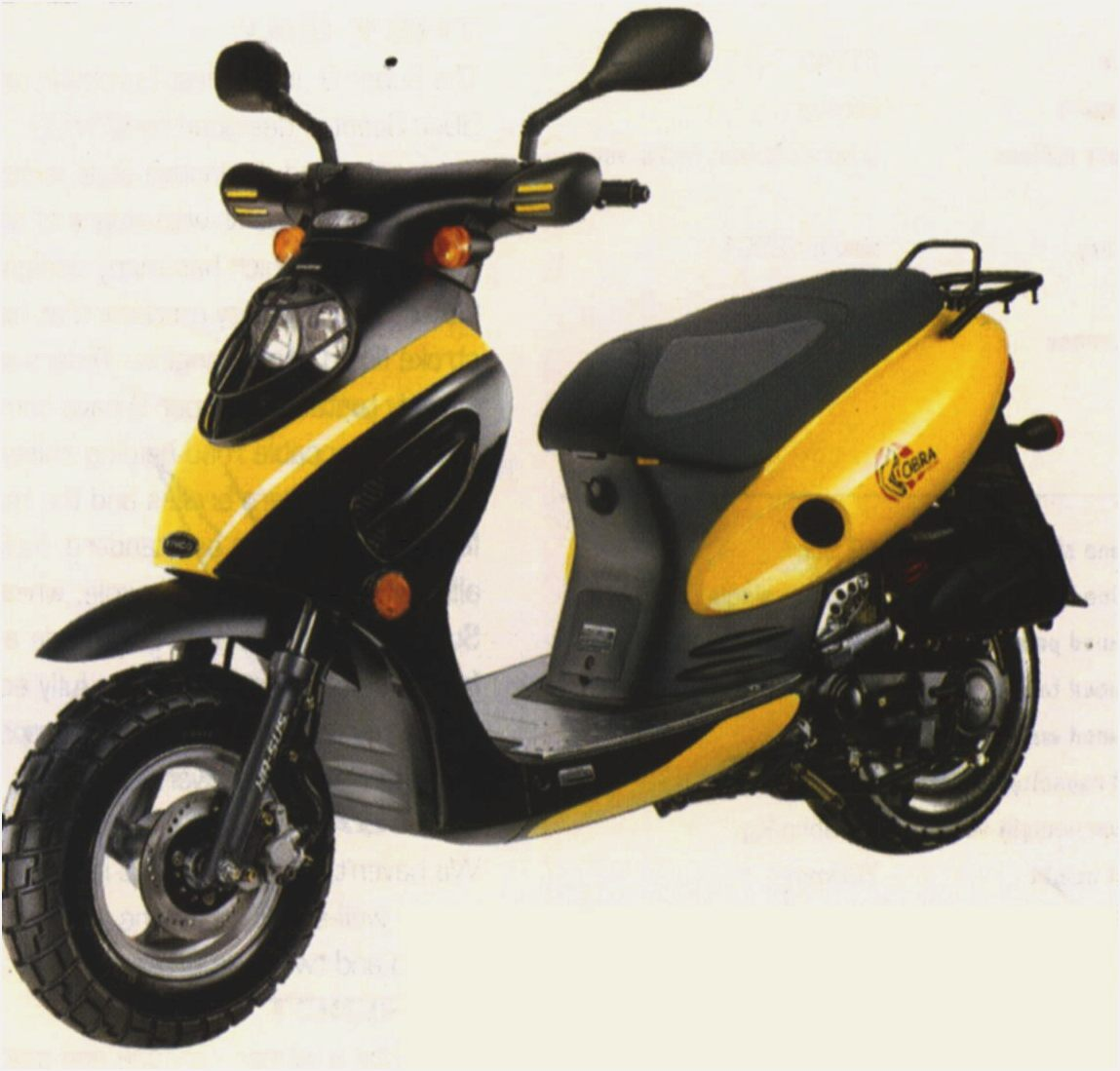 Kymco Scout ZX 50 2002 images #101383