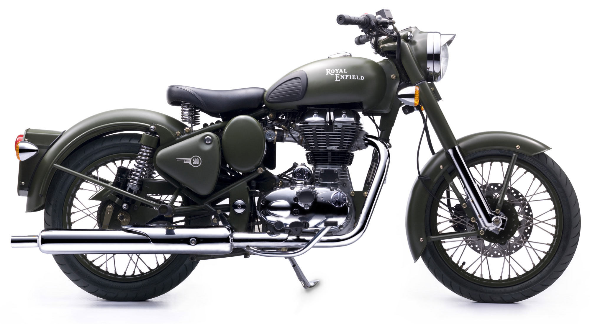 Royal Enfield Bullet 500 Army 1992 images #123381
