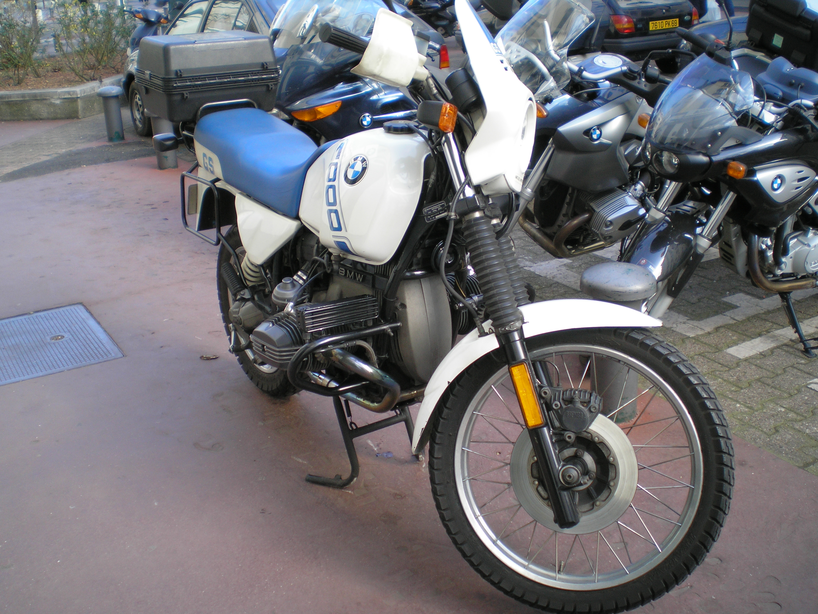 BMW R100GS 1986 images #5511