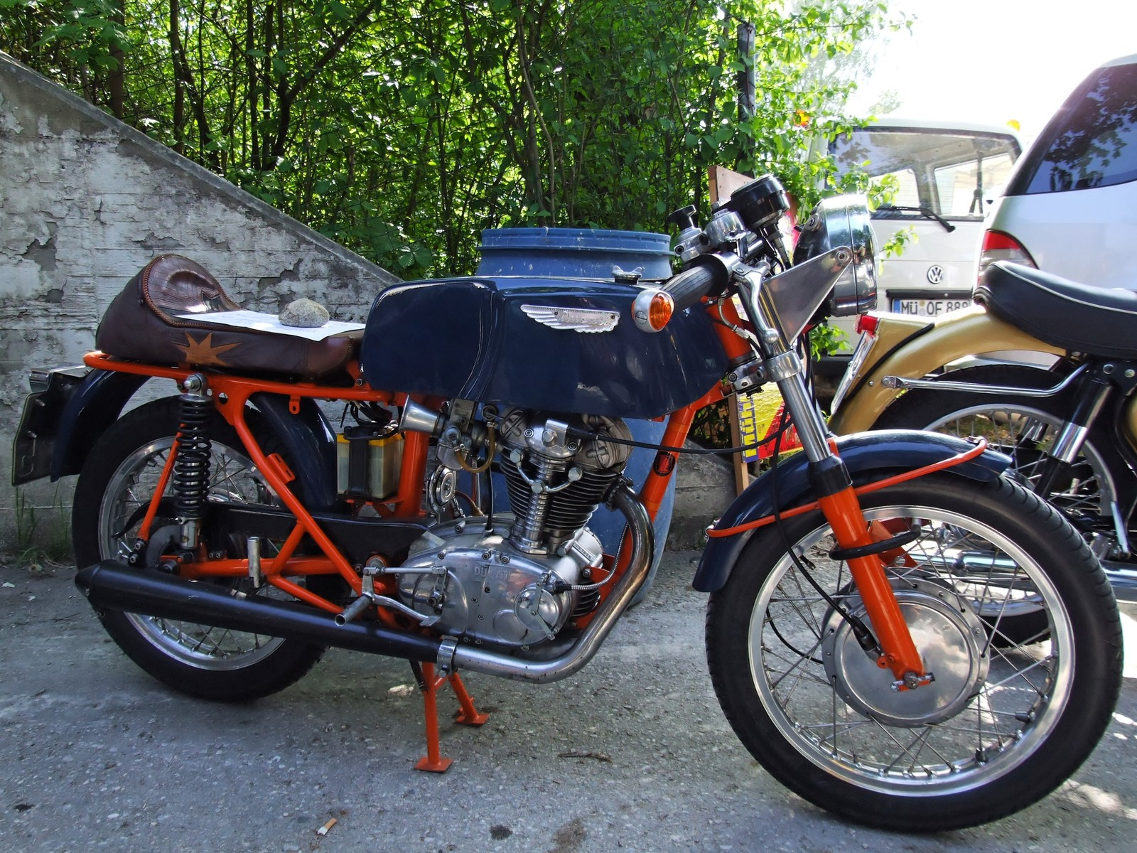 Ducati 350 Mark 3 D 1971 images #9965