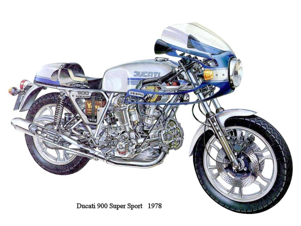 Ducati 900 SS 1978 wallpapers #10462