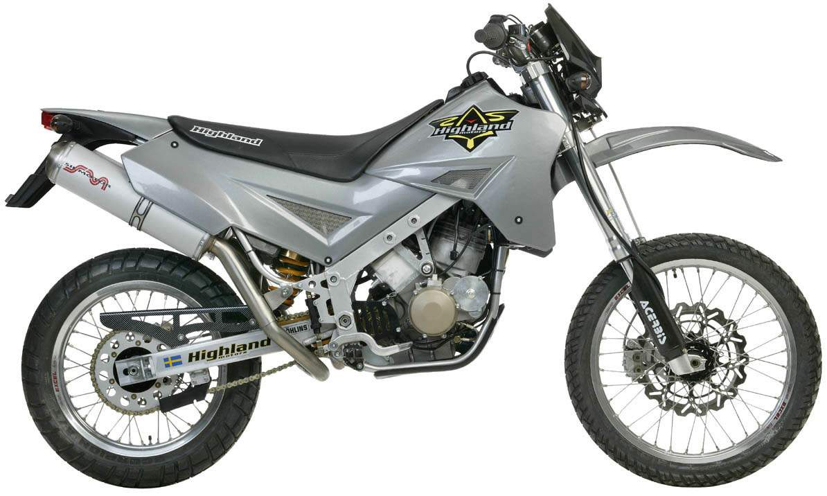 Highland 950 V2 Outback Supermoto 2004 wallpapers #137927