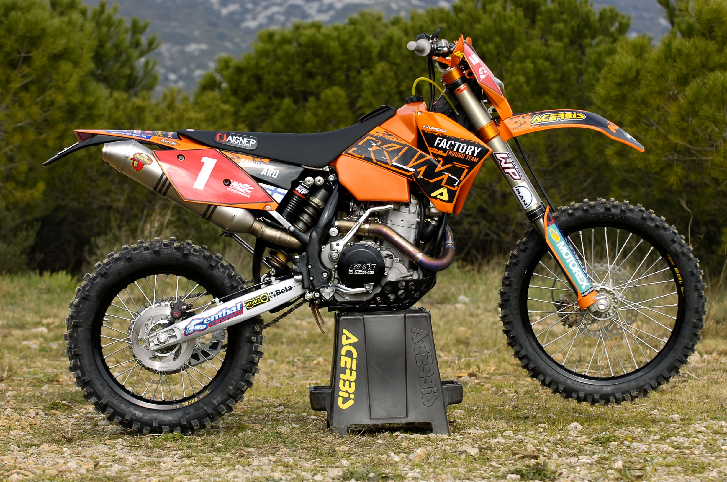 KTM 400 EXC Racing 2005 images #86403