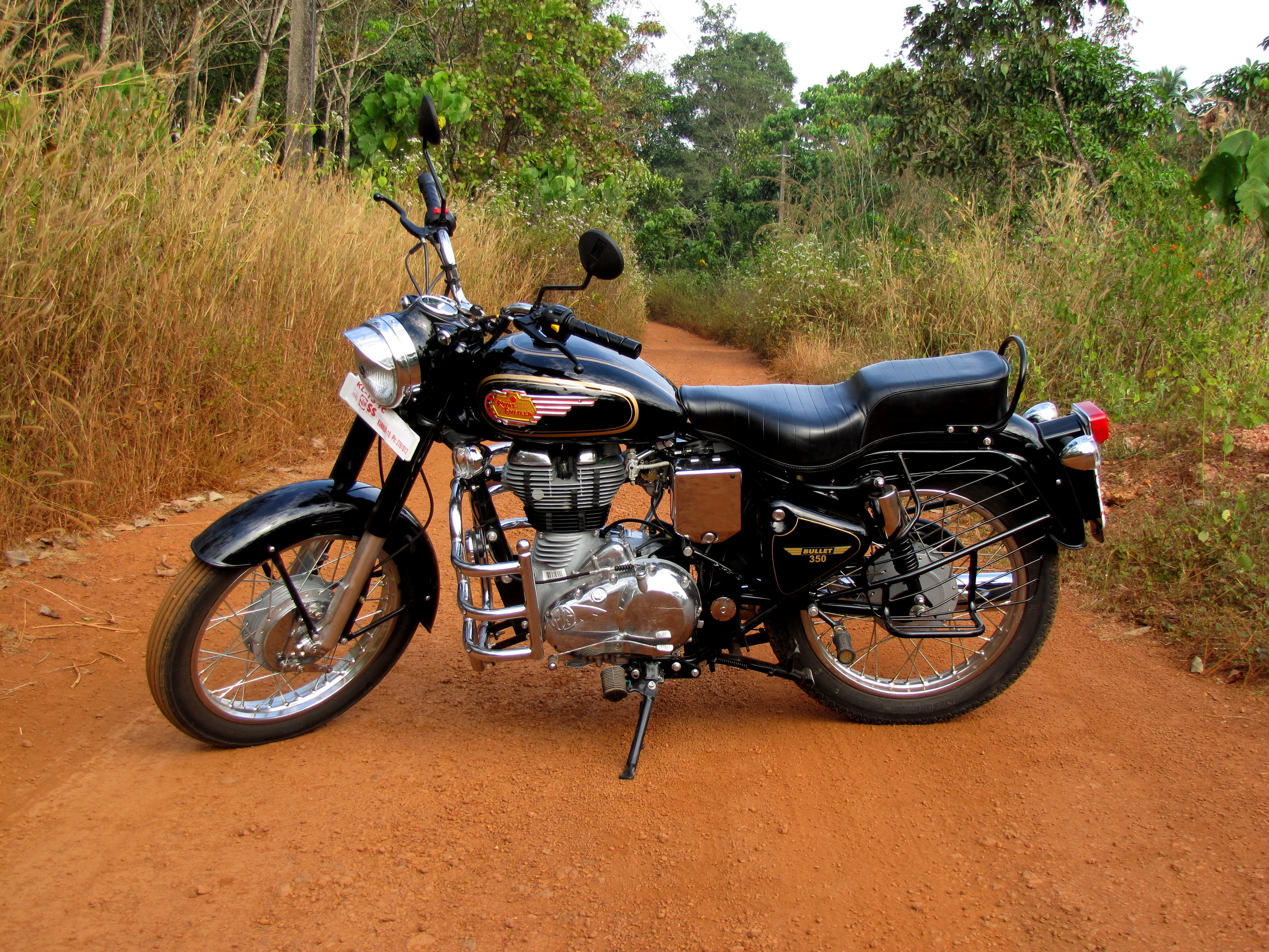 Royal Enfield Bullet 350 Army 2002 images #123579