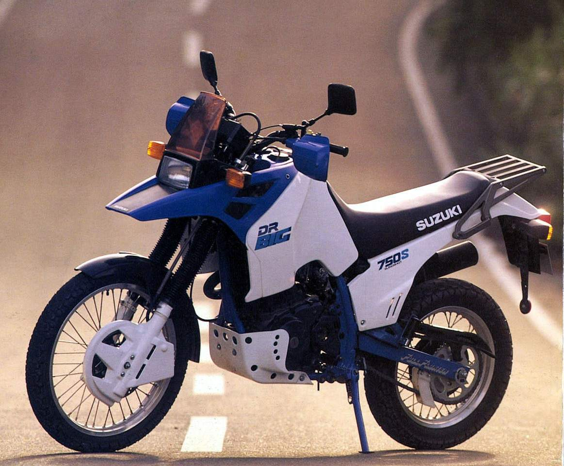 Suzuki DR 600 R Dakar 1988 wallpapers #160541