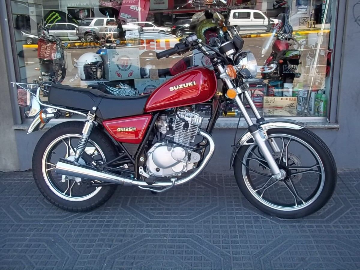 1995 suzuki gn 125 e pics specs and information. Black Bedroom Furniture Sets. Home Design Ideas