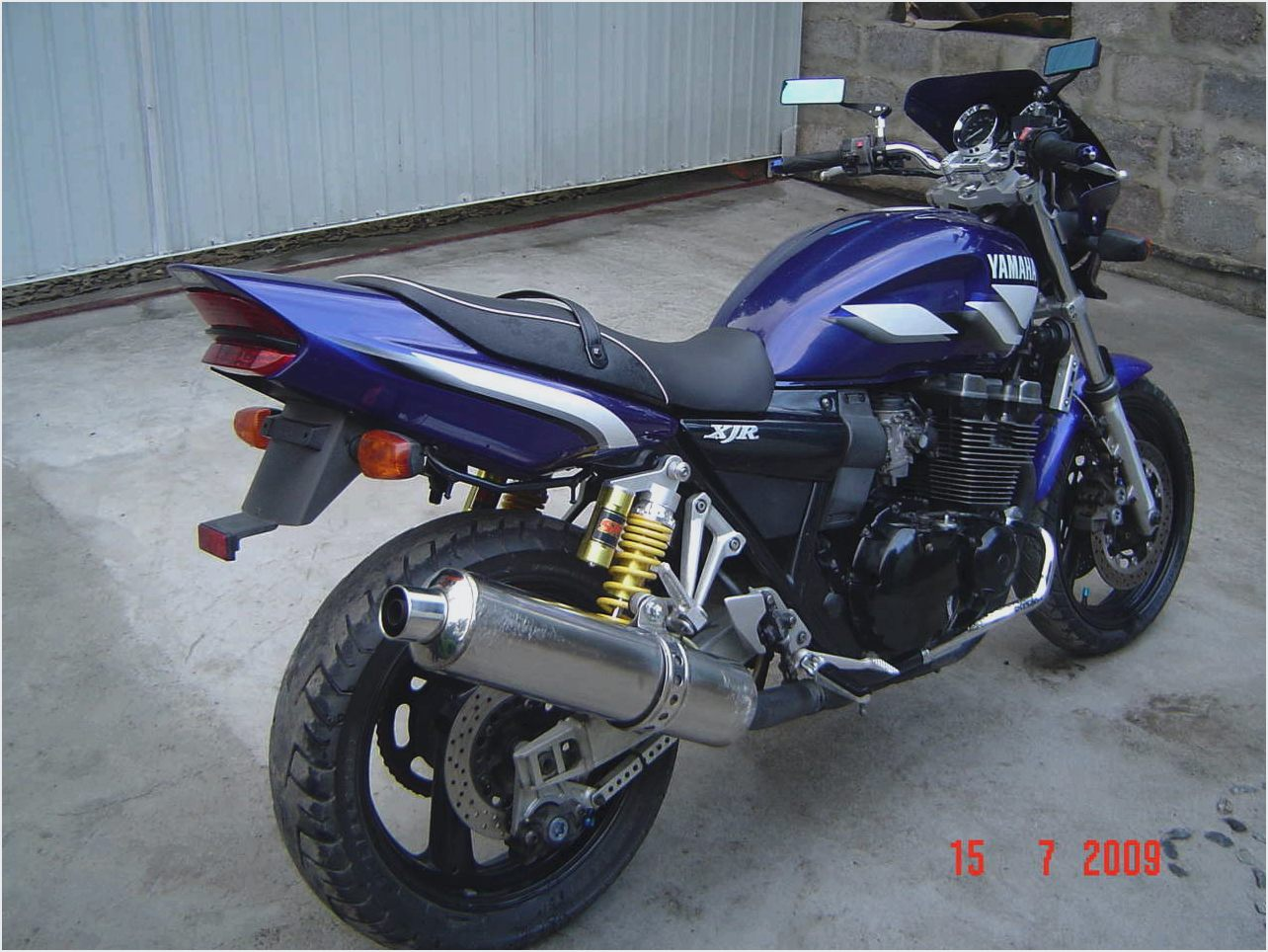 Yamaha XJR 400 R 2005 images #91276