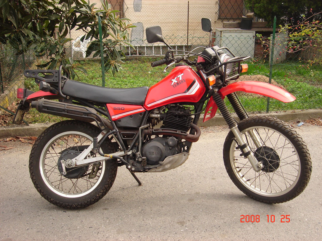1983 yamaha xt 550 pics specs and information for Yamaha clp 550 specifications