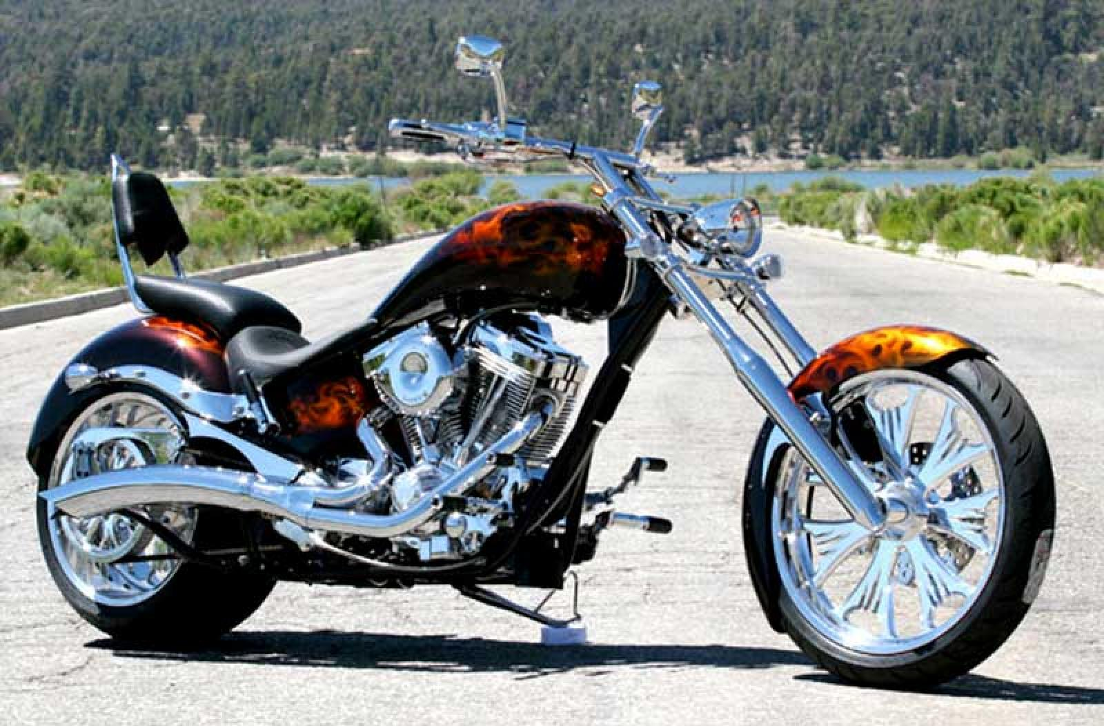 Big Bear Choppers Sled 100 EFI Evolution 2009 images #93353