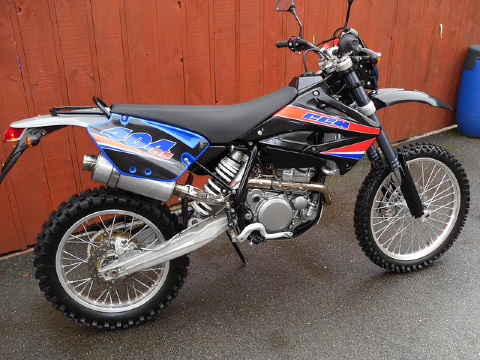 CCM 404DS Dualsport Moto 2007 images #94142