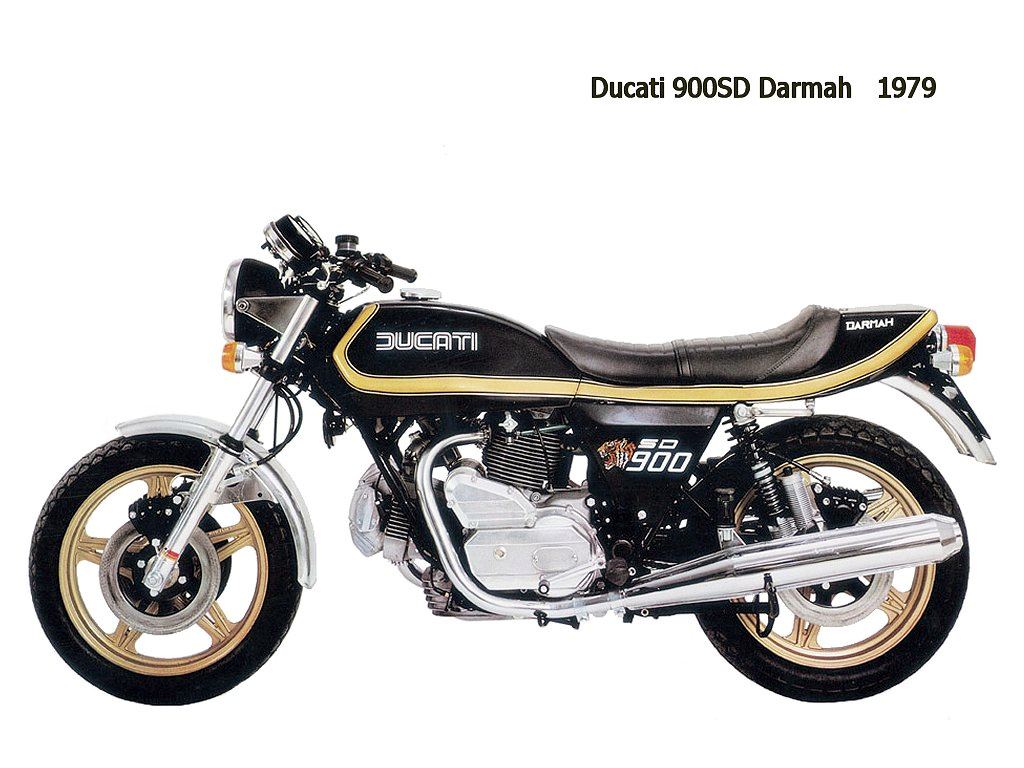 Ducati 900 SD Darmah 1980 wallpapers #154293