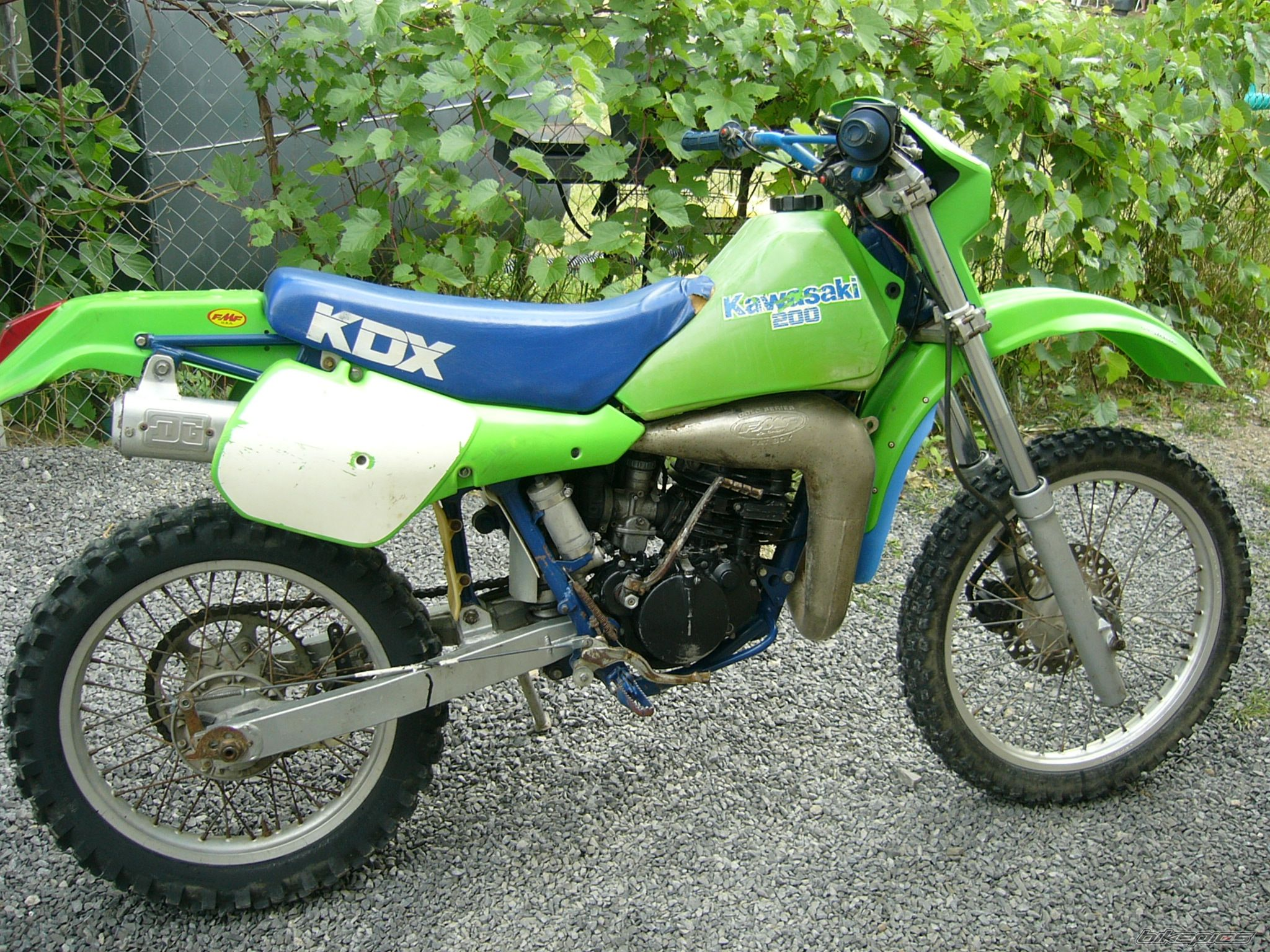 Kawasaki KMX 200 1987 wallpapers #142690