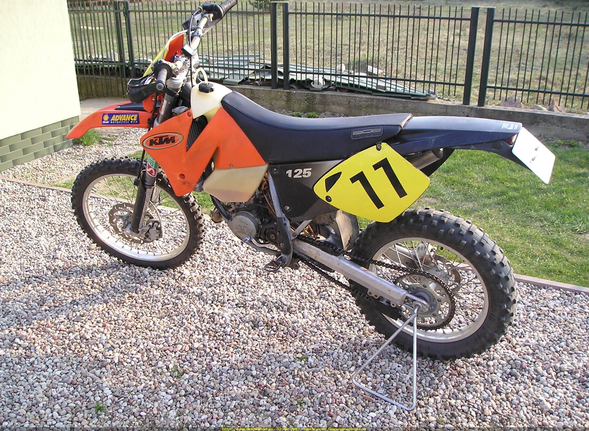 2001 ktm 125 exc pics specs and information. Black Bedroom Furniture Sets. Home Design Ideas