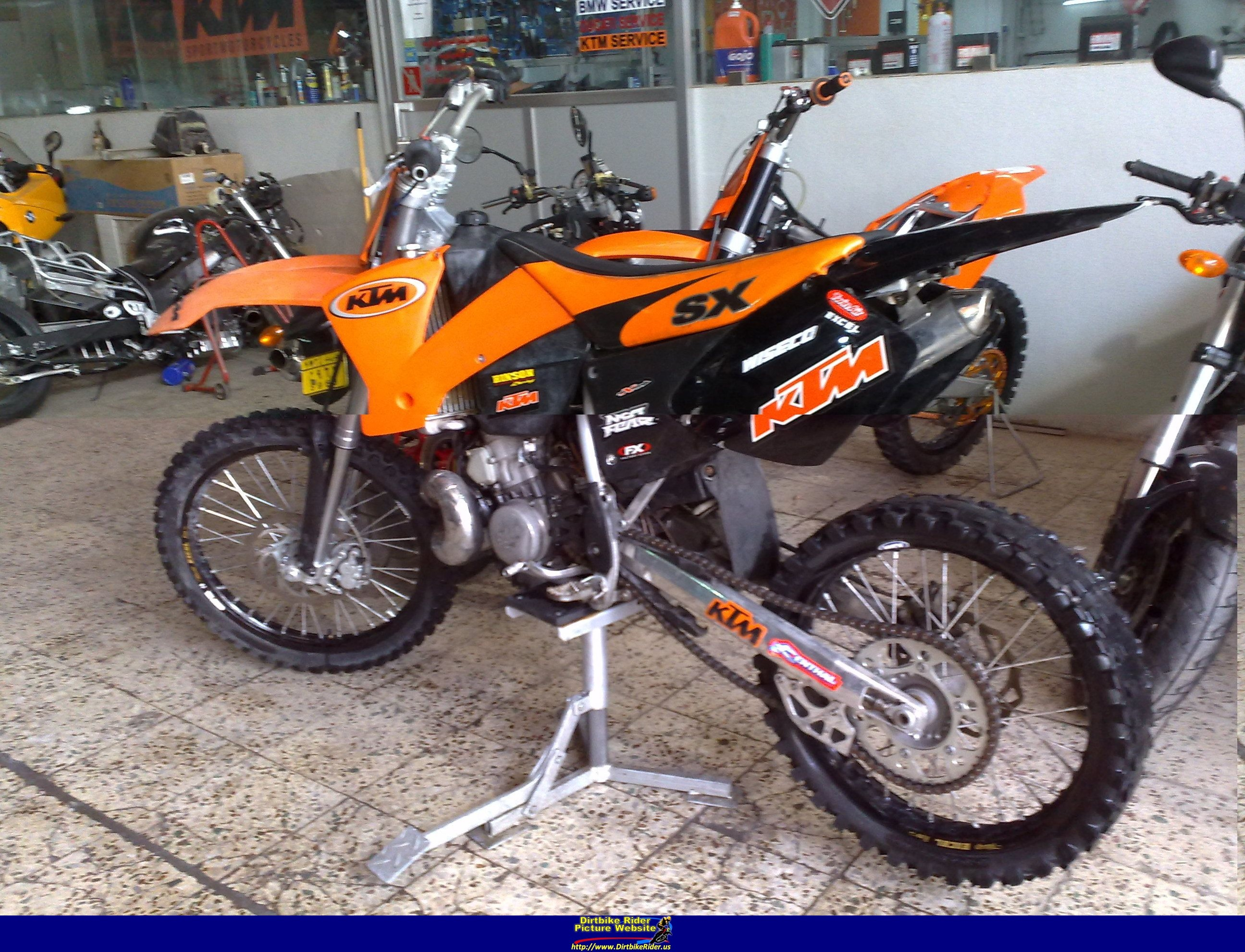 2002 Ktm 380 Sx Pics Specs And Information