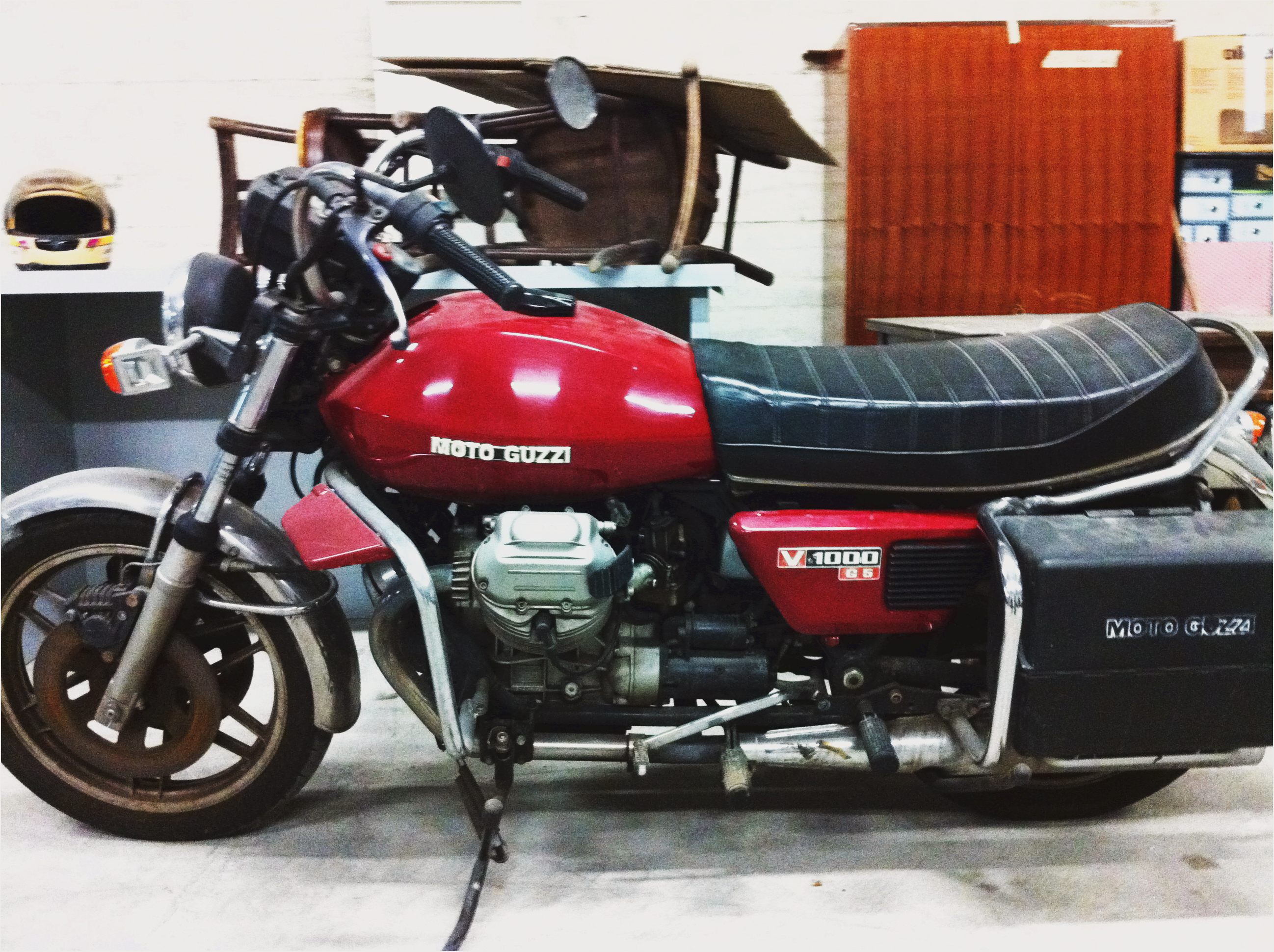 Moto Guzzi V 1000 I-Convert 1976 wallpapers #139617