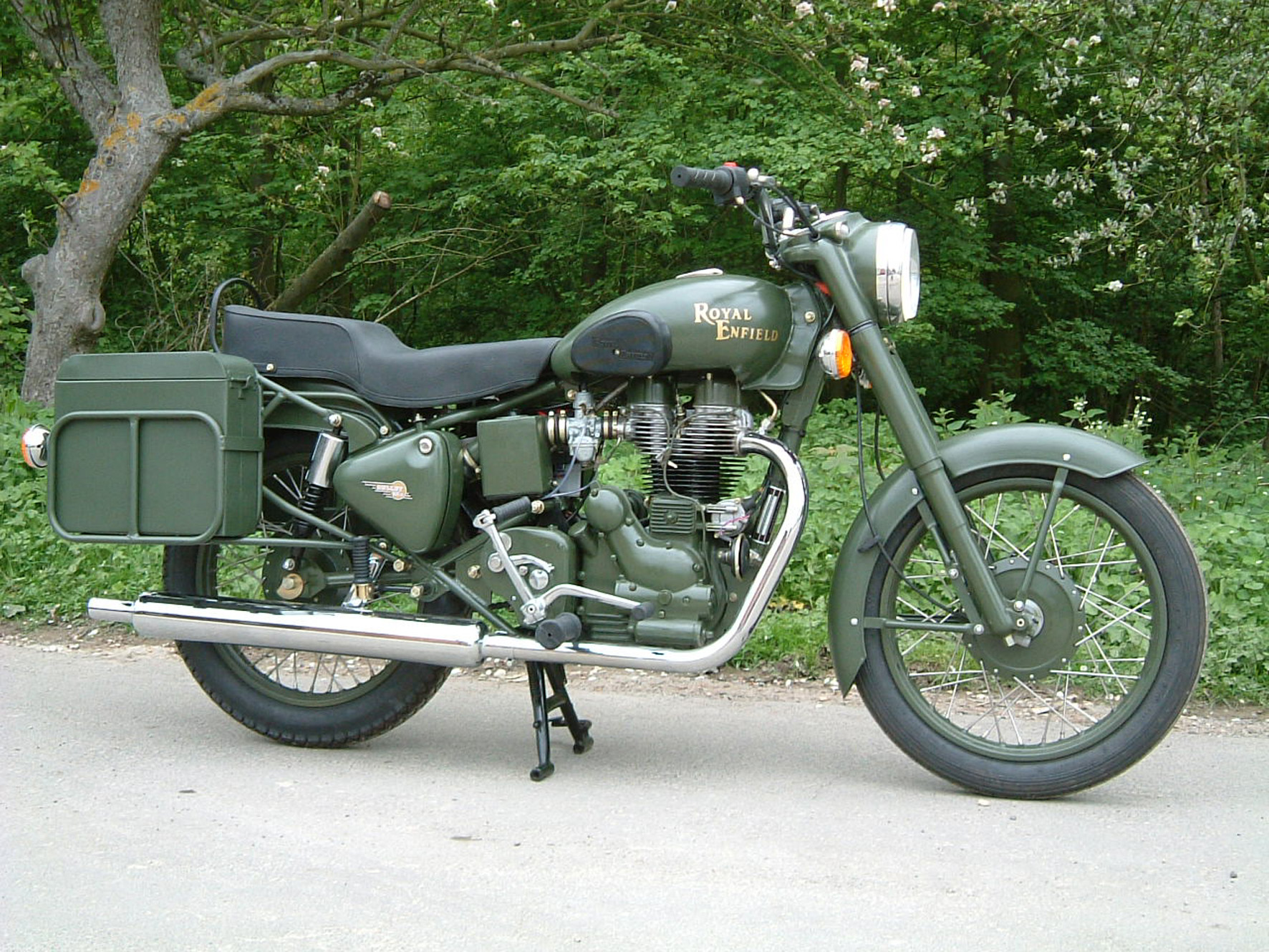 Royal Enfield Bullet 500 Army 1992 images #123383
