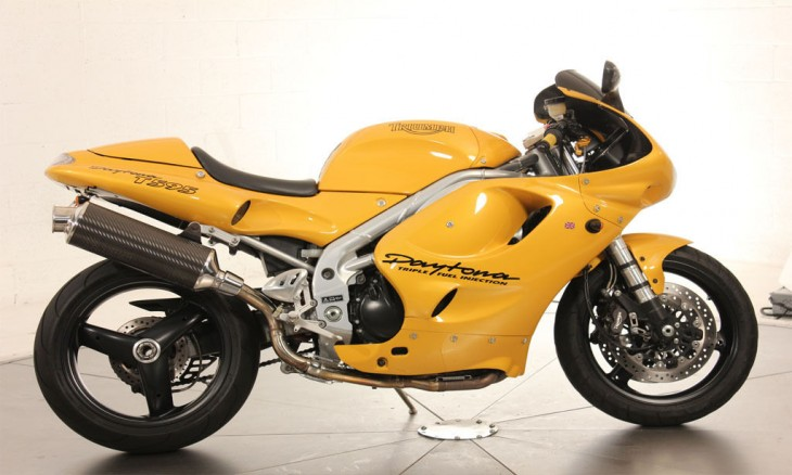 Triumph Daytona 750 reduced effect #2 1992 images #158854