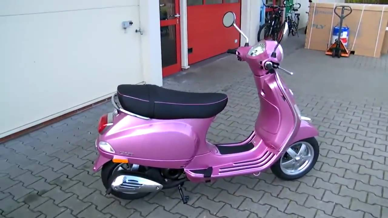 Vespa LX Rosa Chic 50 4T 2011 wallpapers #129699