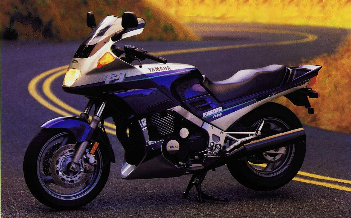 Yamaha FJ 1200 ABS 1992 wallpapers #135949