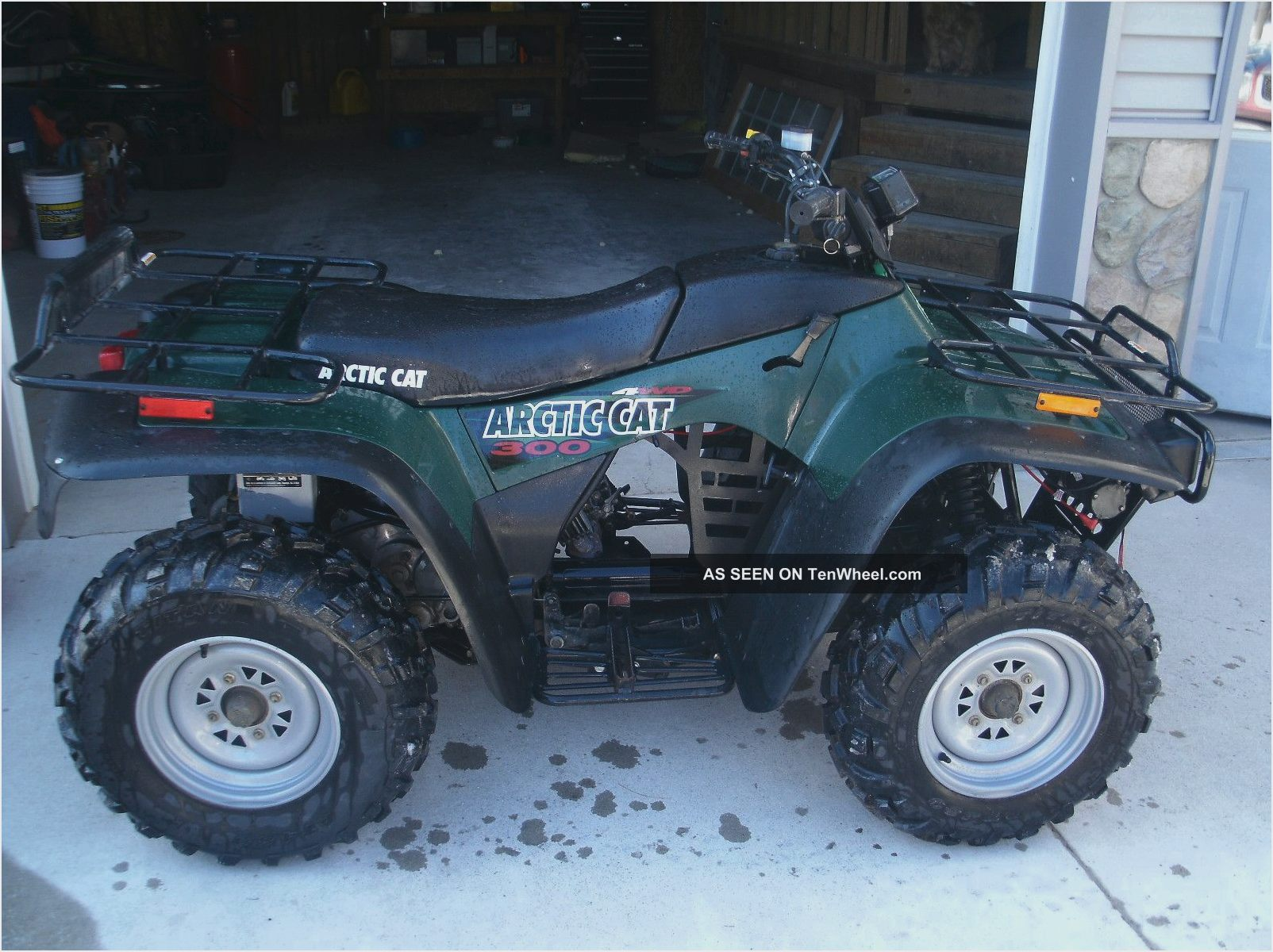Wiring Diagram With Schematics For A 1998 400 4x4 Arctic Cat ... on