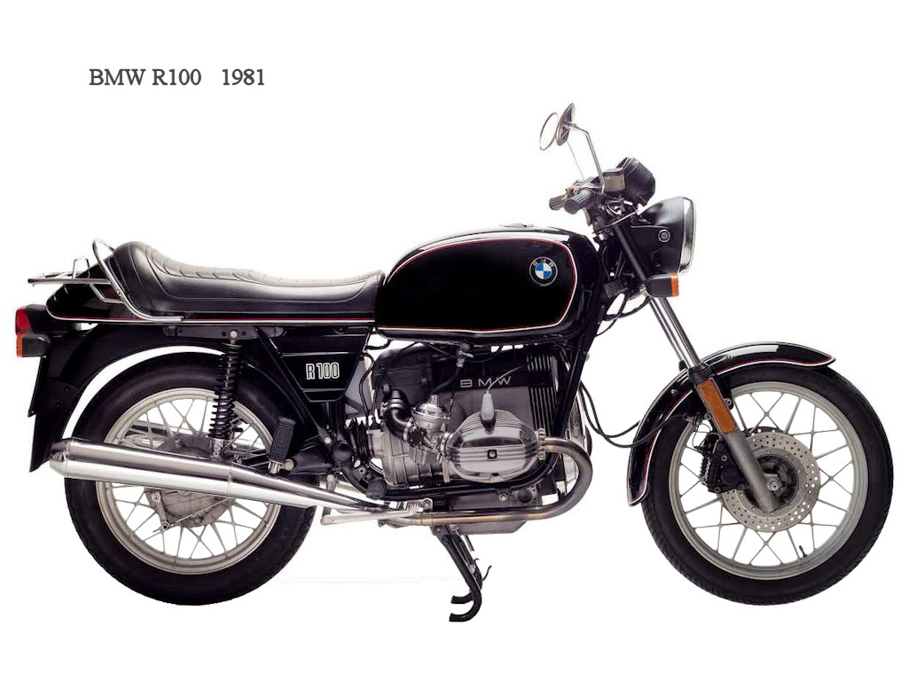 BMW R100RS 1981 images #4618