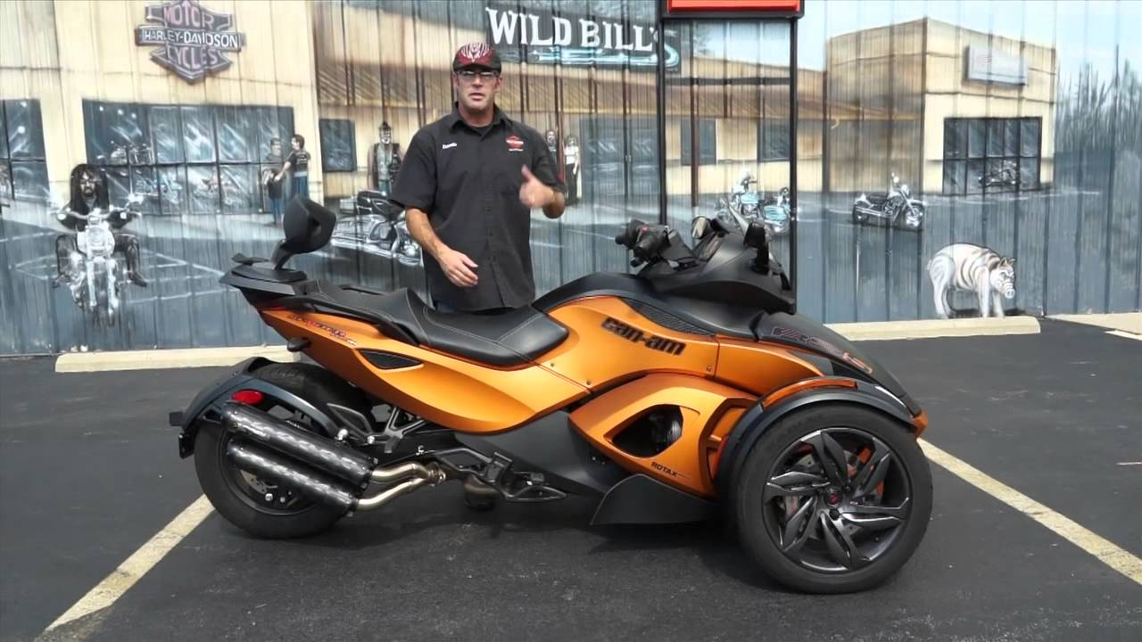 Can-Am Spyder RS-S 2014 images #153597