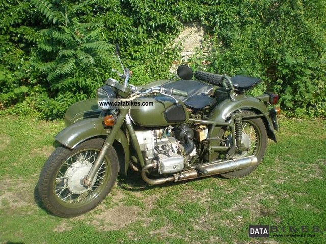 Dnepr MT 10 with sidecar 1982 images #70459