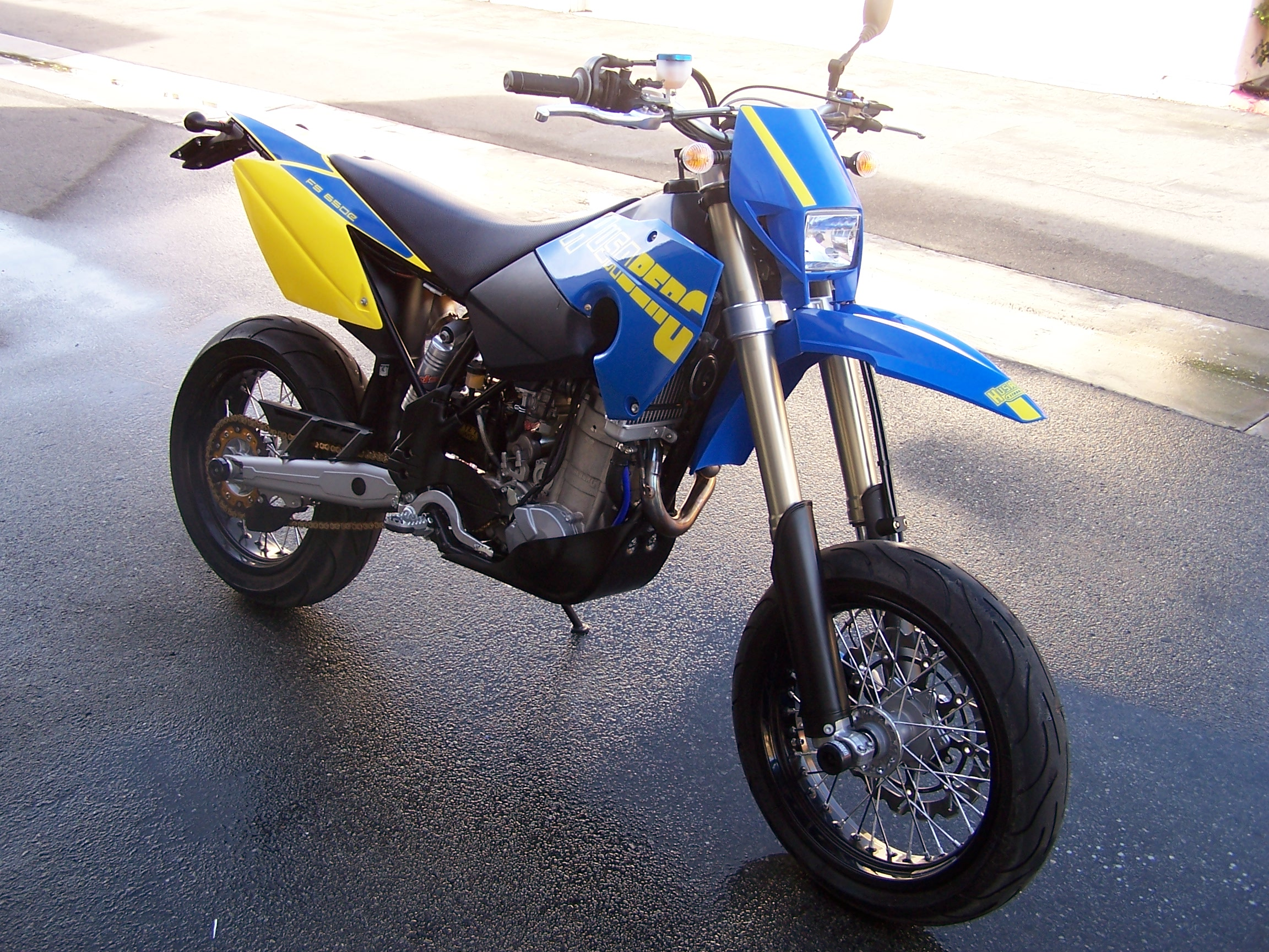 Husaberg FE 650 E 2006 wallpapers #143090