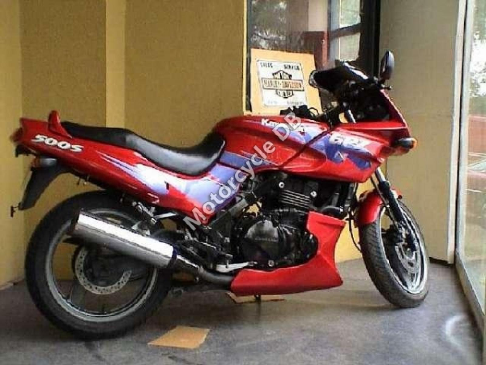 Kawasaki GPZ 500 S (reduced effect) pics #30908