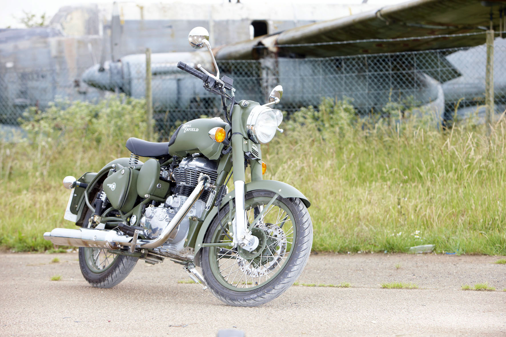 Royal Enfield Bullet 350 Army 2002 images #123581