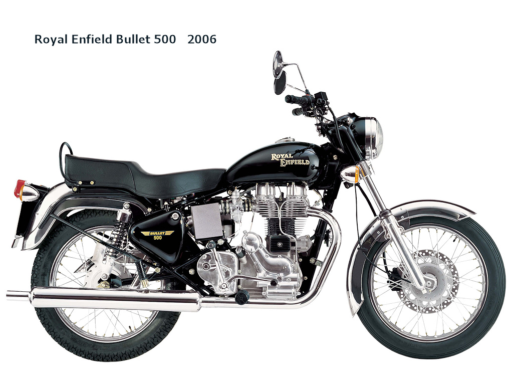 Royal Enfield Bullet 350 Classic 2006 wallpapers #141305