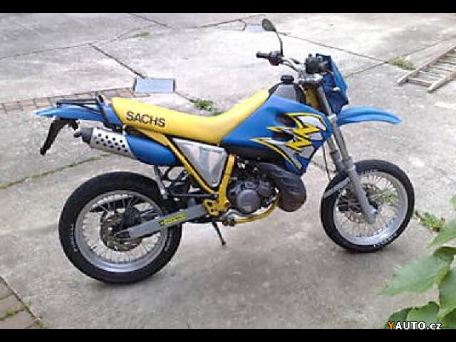 Sachs ZZ 125 2001 images #127617