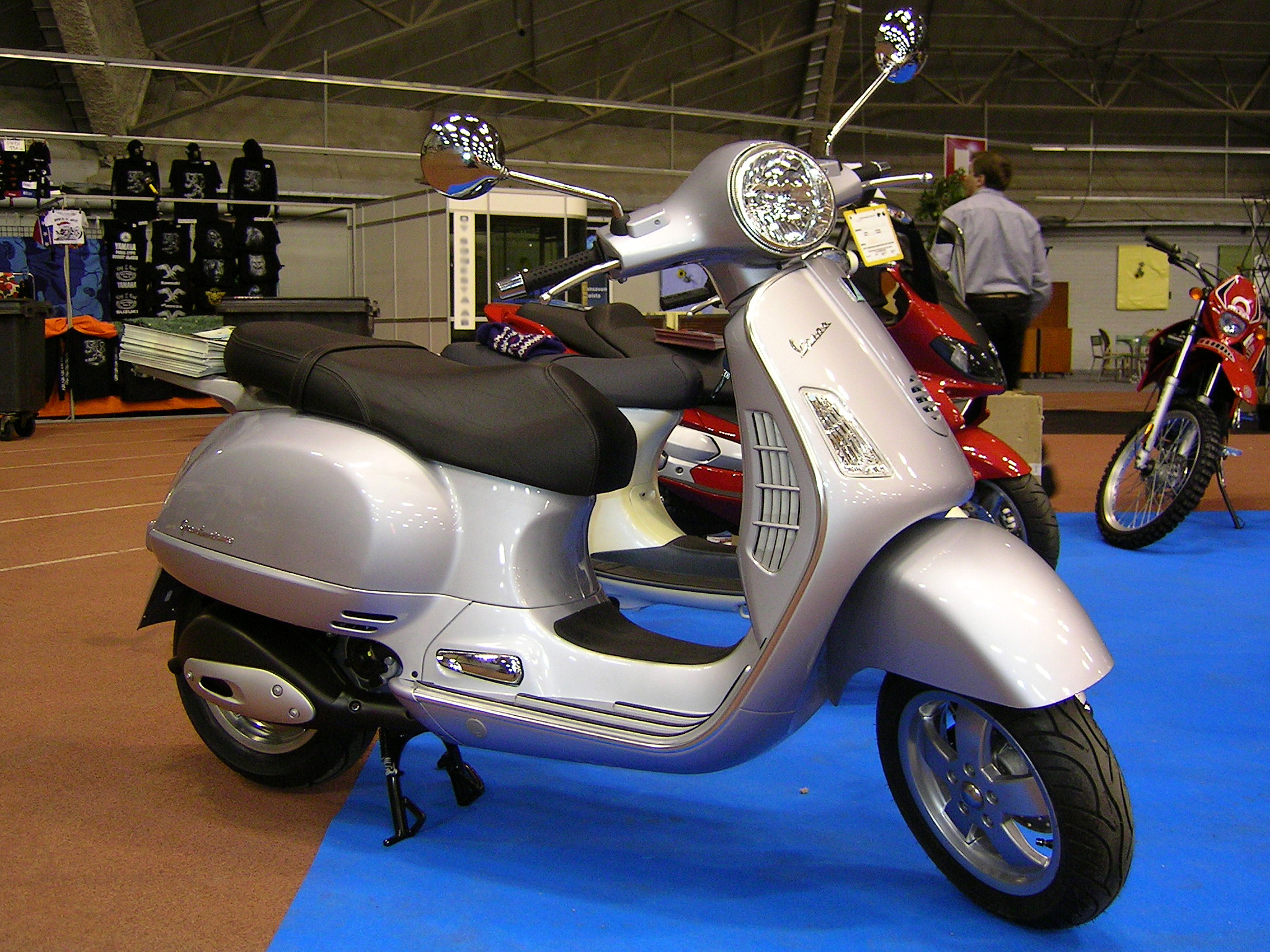 Vespa Granturismo 200 2008 wallpapers #132483